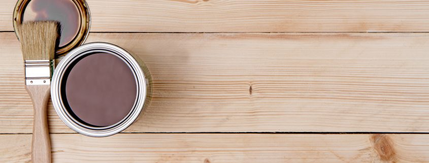 Brown-paint-coating-on-wood-substrate-Hong-Kong
