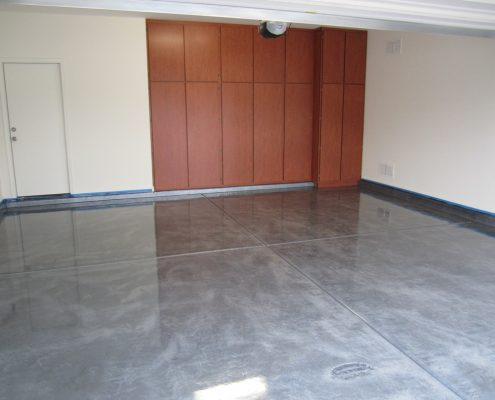 epoxy floor coating in garage