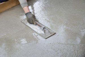 Applying floor coating