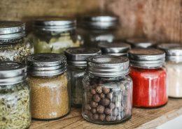 packaging coating herb jars
