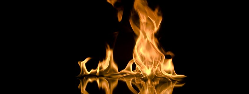 fire proof paint for steel makes flames stay at a distance