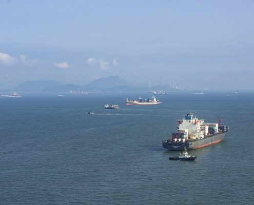 Marine Coating protects vessels originating from Hong Kong